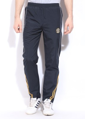 Sports 52 Wear Striped Men's Blue Track Pants