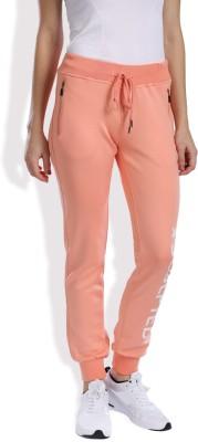 HRX by Hrithik Roshan Solid Women's Orange Track Pants at flipkart