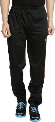 Custom Creation Solid Men's Black Track Pants