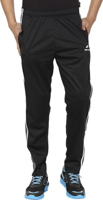 Orizzonti Solid Men's Black, Grey Track Pants