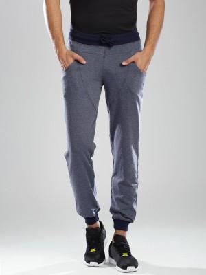 HRX by Hrithik Roshan Solid Men's Blue Track Pants