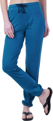 Wake Up Competition Solid Women's Light Green Track Pants