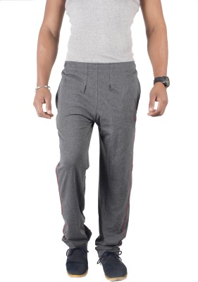 Spur Solid Men's Grey Track Pants