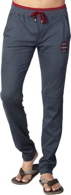 Allocate Solid Men,s Grey, Red Track Pants