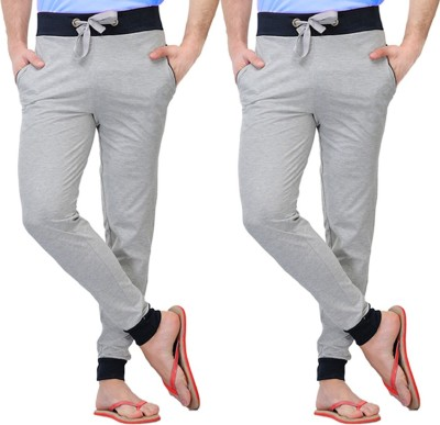 Rakshita Collection Solid Men's Grey Track Pants