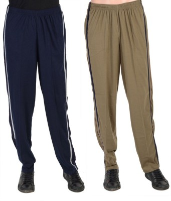 Gazelle Active Solid Men's Blue, Brown Track Pants