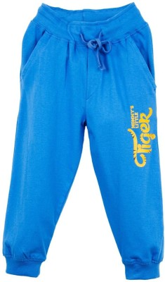 Oye Printed Baby Boy's Blue Track Pants