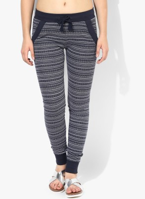 Wake Up Competition Self Design Women's Blue Track Pants