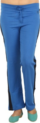 Download Apparel Solid Women's Blue, Black Track Pants