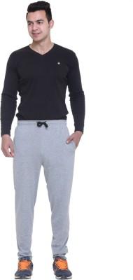 FREE RUNNER Solid Men's Grey Track Pants