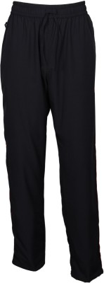 ArcticPlus Solid Mens Black Track Pants