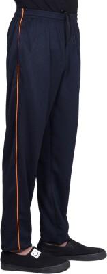 Dee Mannequin Solid Men & Women Dark Blue Track Pants