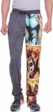 DFH Solid, Printed Men's Grey Track Pant...