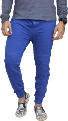 Body Tantrum Solid Men,s Light Blue Track Pants