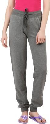 X-Plore Solid Women's Grey Track Pants