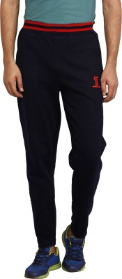 sporty culture Solid Men's Blue, Red Track Pants