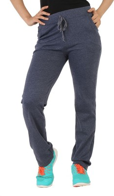 Bottoms More Solid Women's Grey Track Pants