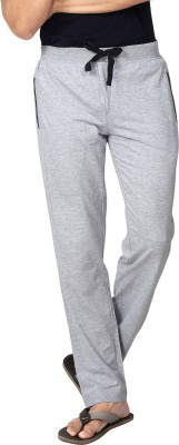 AVOQ-Style Reboot Solid Men's Grey, Black Track Pants