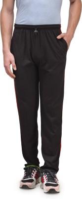Alfa Active Solid Men's Black Track Pants