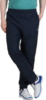 Goodluck L-0007 A Solid Men's Dark Blue, Yellow Track Pants