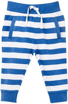Mom & Me Striped Baby Boy's Blue Track Pants