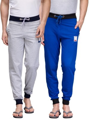 TSX Solid Men's Blue, Grey Track Pants