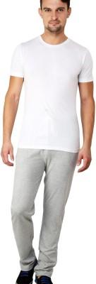 Lemon & Vodka Solid Men's Grey Track Pants