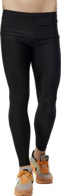 Akaira Solid Men's Black Track Pants