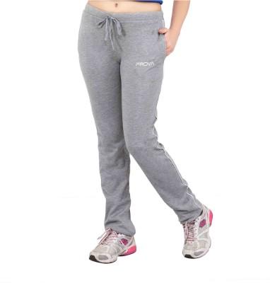 Prova Solid Women's Grey Track Pants