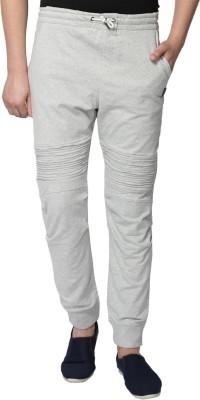 883 Police Solid Men's Grey Track Pants