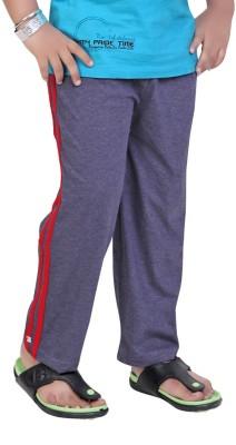 Mint Solid Boy's Light Blue Track Pants