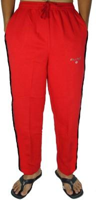 Bluedge Solid Men,s Red Track Pants