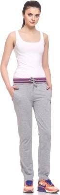 EX10SIVE Solid Women's Grey Track Pants