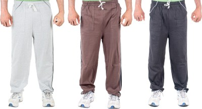Funky Guys Solid Men's Multicolor Track Pants