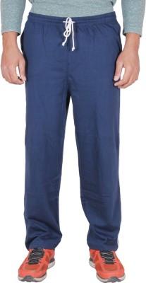 Frang Solid Men's Dark Blue Track Pants