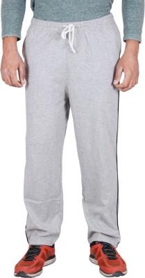Frang Solid Men's Grey Track Pants