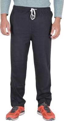 Frang Solid Men's Black Track Pants