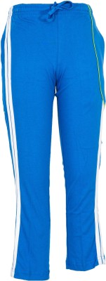 Body Care Solid Boy's Blue Track Pants