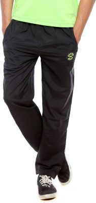 Sports 52 Wear 52W Solid Men's Black Track Pants