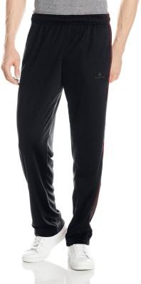 Lavos Solid Men's Black Track Pants