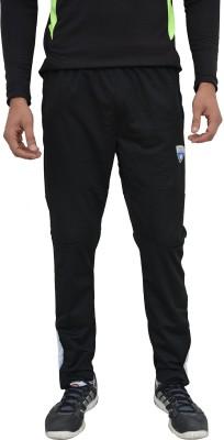 Color Castle Solid Men's Black Track Pants