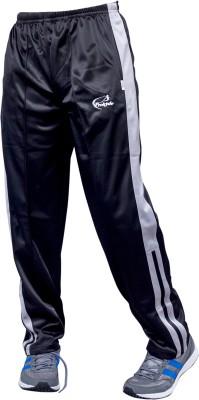 Prokyde Solid Men's Black, Grey Track Pants
