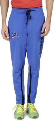 Varo Boss Solid Men's Blue Track Pants