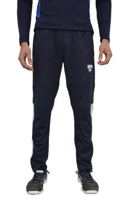 Color Castle Solid Men's Dark Blue Track Pants