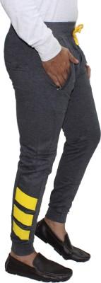 Body Tantrum Solid Men,s Black Track Pants