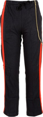 Body Care Solid Boy's Black Track Pants