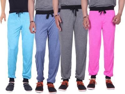 Gag Wear Solid Men's Dark Blue, Grey, Pink, Light Blue Track Pants