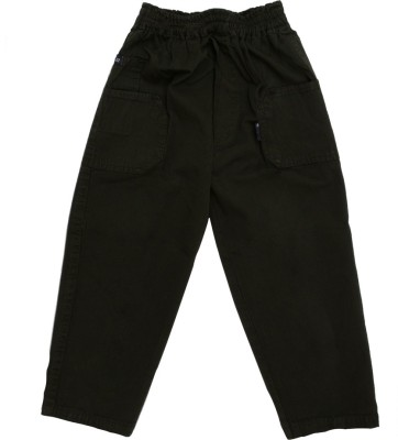 SETVEL Solid Boy's Dark Blue Track Pants