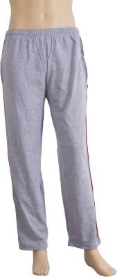 Karwan International Solid Men's Grey Track Pants