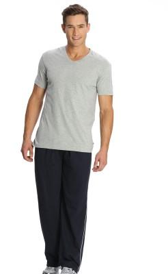 Jockey Solid Men's Blue Track Pants